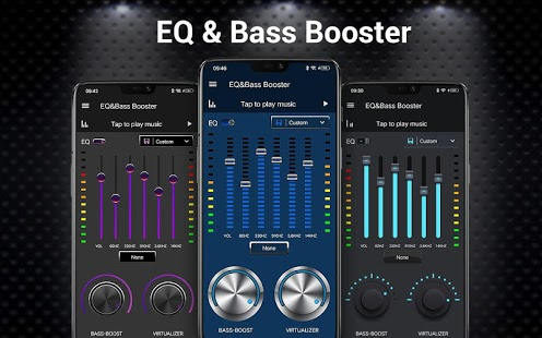 Equalizer -- Bass Booster & Volume EQ &Virtualizer Screenshot