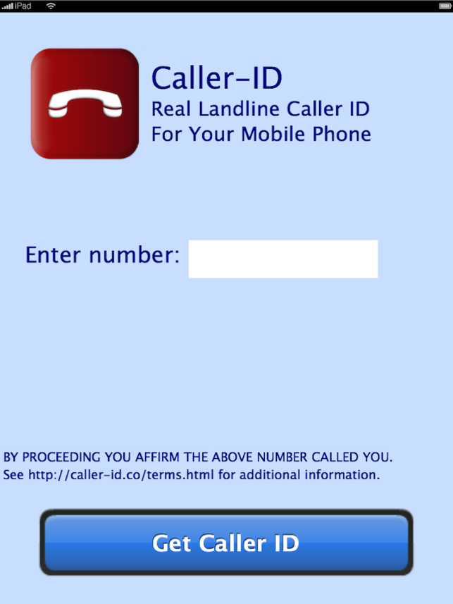‎Caller-ID Screenshot