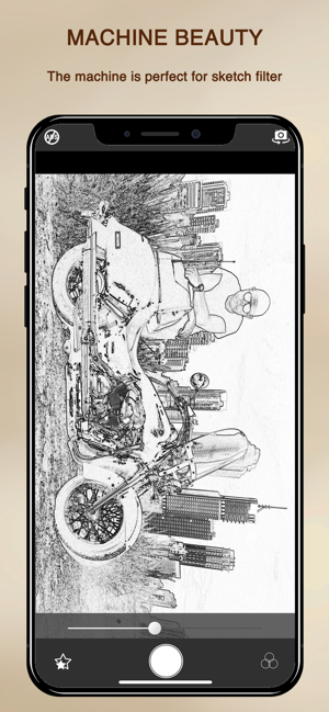 ‎Cartoon Sketch Camera PRO Screenshot