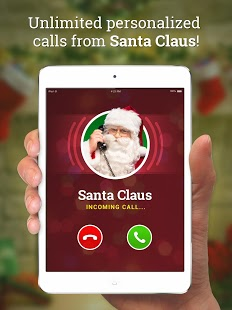 Message from Santa!  video, phone call, voicemail Screenshot