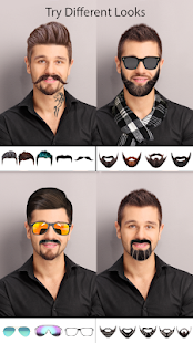 Man Photo Editor : Man Hair style ,mustache ,suit Screenshot