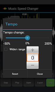 Music Speed Changer Lite Screenshot