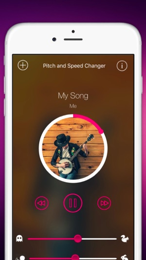 ‎TimePitch - Song Pitch and Speed Changer Screenshot
