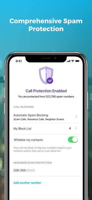 ‎Hiya: Caller ID & Spam Blocker Screenshot