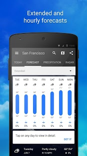 1Weather:Widget Forecast Radar Screenshot
