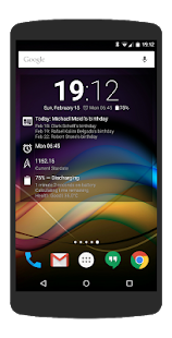 Chronus: Information Widgets Screenshot