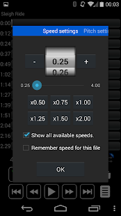 Audipo:Audio speed changer Screenshot